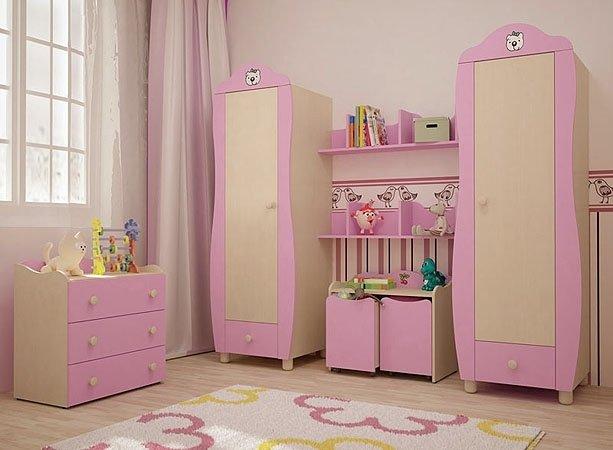 Шкаф  для девочки